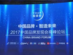 中视鸿图受邀出席2017中国品牌发现会高峰论坛